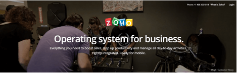 Zoho for Lead generation